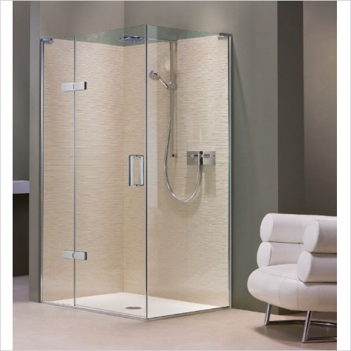 Matki Shower Enclosures - Hinged Door EPHC Side Panel 700mm