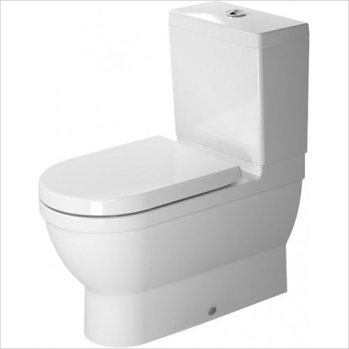 Duravit - Toilets - Starck 3 Toilet Close Coupled 700mm Vario Outlet Washdown