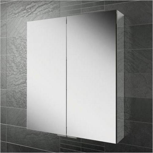 HIB Furniture - Eris 80 Bathroom Mirror Cabinet - 2 Doors