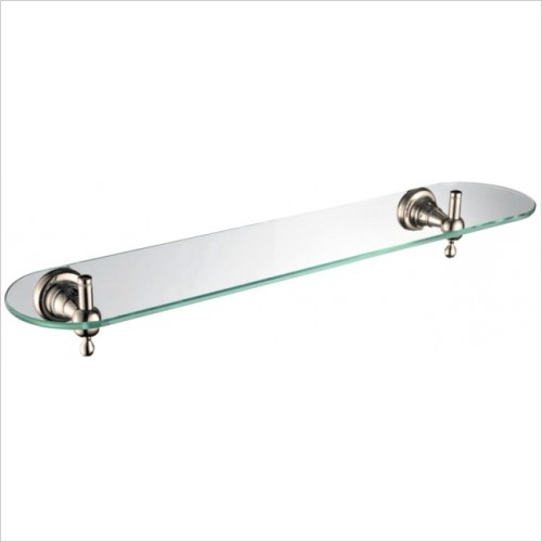 Bristan Accessories - 1901 Glass Shelf