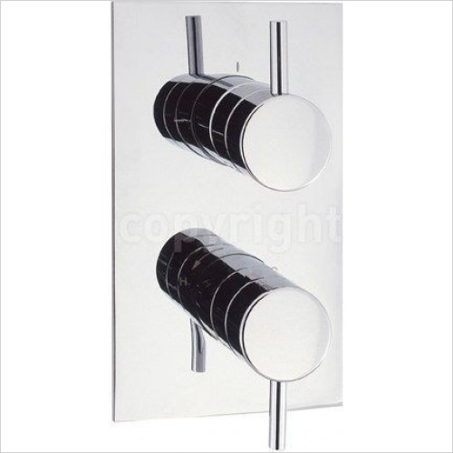 Crosswater Showers - Kai Lever Thermostatic Shower Valve With 2 Way Diverter