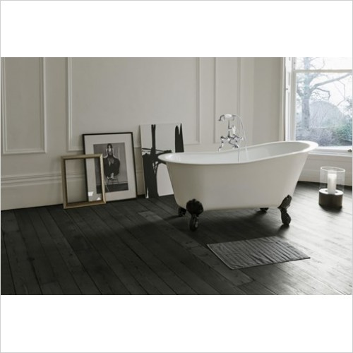 Clearwater Baths - Romano Petite Clearstone Bath 1524 x 750mm