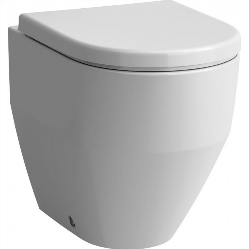 Laufen Toilets - Pro Floorstanding Back To Wall WC, Washdown