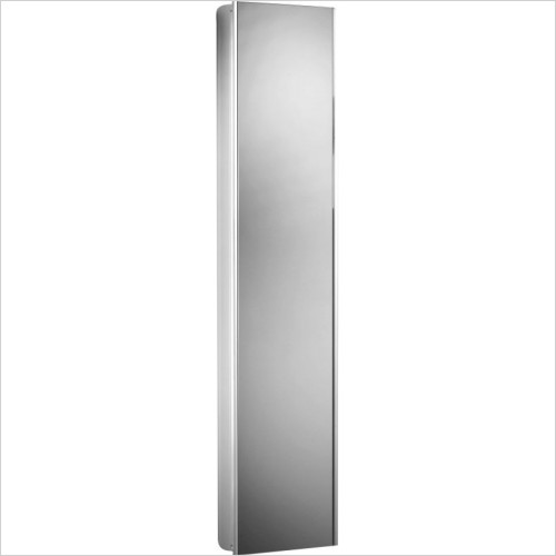 Ascension Reference Tall Mirror Glass Door Cabinet