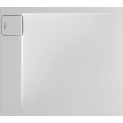 P3 Comforts Shower Tray 900x800mm Rectangle Corner Left