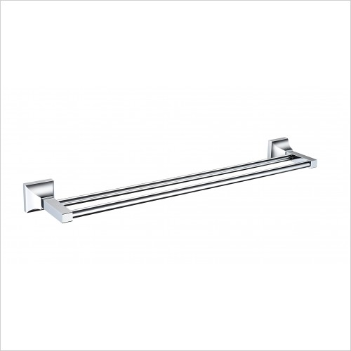 Heritage Accessories - Chancery Double Towel Rail