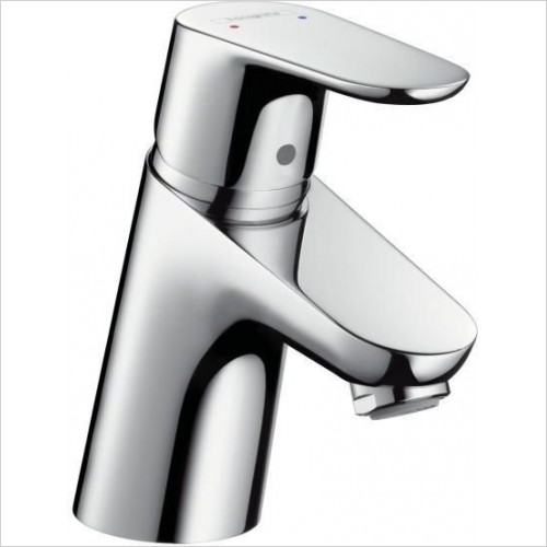 Hansgrohe Taps - Focus Single Lever Basin Mixer 70 Low Flow Without Waste Set