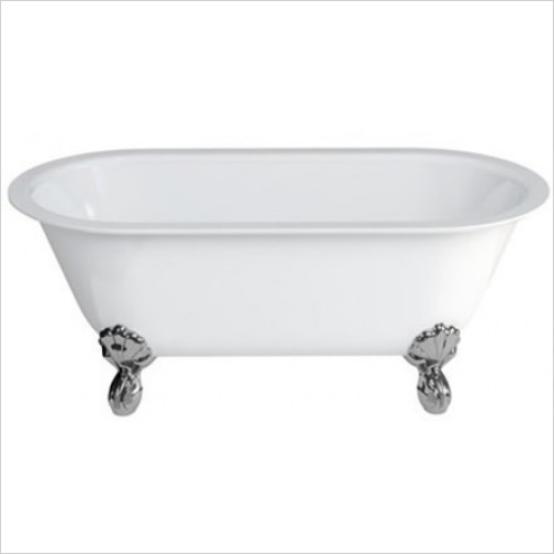 Clearwater Baths - Classico Grande ClearStone 1690 x 800mm, Legs On Corners