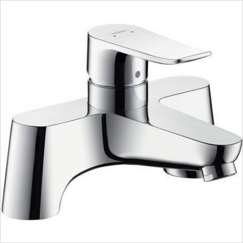 Hansgrohe Taps - Metris Rim Mounted Bath Mixer