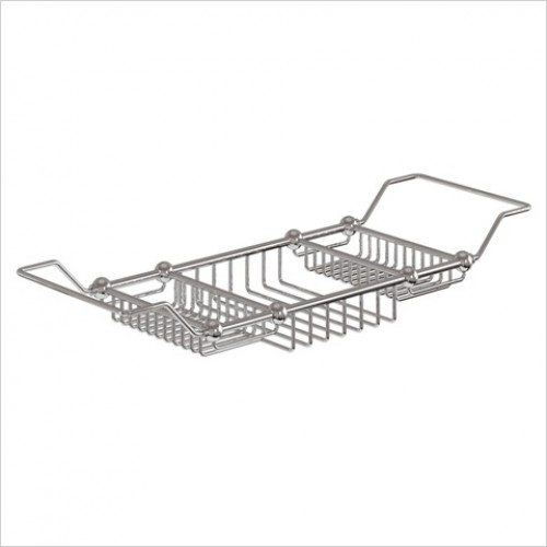 Burlington Accessories - Extendable Bath Rack