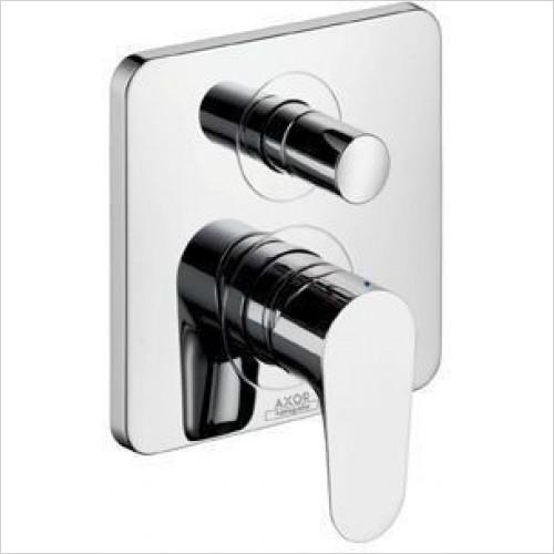 Axor Taps - Citterio M Single Lever Bath Mixer For Concealed Inst.