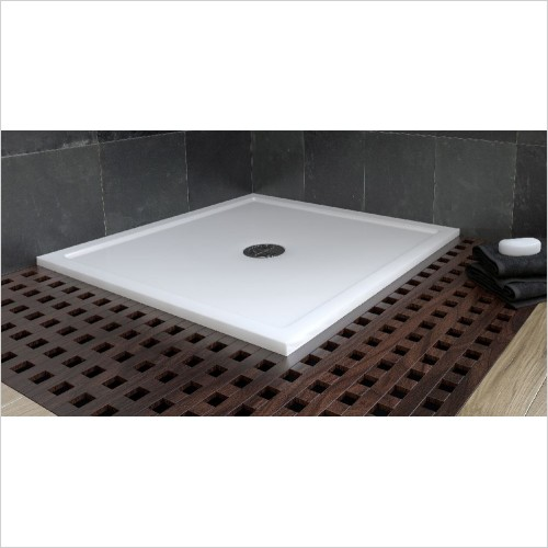 Matki Shower Enclosures - Continental 40 Raised Recess Shower Tray 800mm