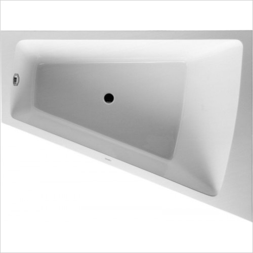 Duravit Baths - Paiova Bathtub 1700x1300mm Corner Right With Integrated Pane