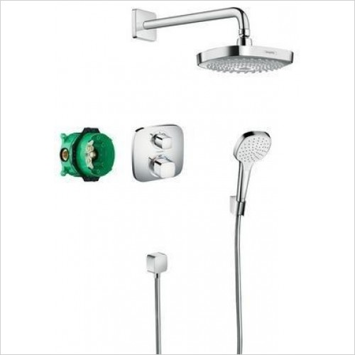 Hansgrohe Showers - Design Bathroom Shower Set Croma Select E/Ecost.E