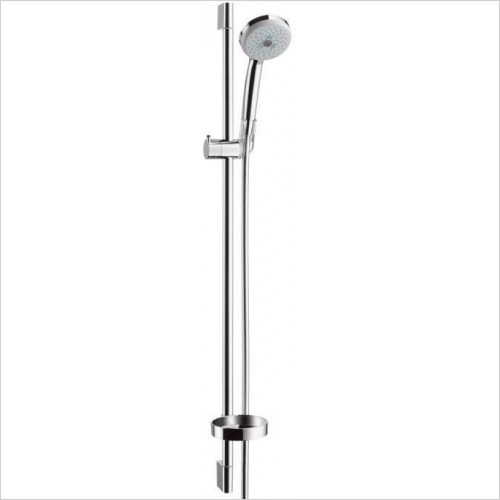 Hansgrohe Showers - Croma 100 Multi/Unica'C Complete Shower Set 0.90m