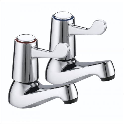 Bristan Taps - Lever Basin Taps With Ceramic Disc Valves