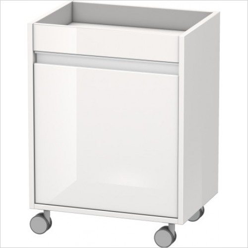 Duravit Furniture - Ketho Mobile Storage 360x500x670mm - Left Hand - KT2530