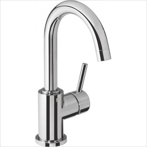 Roper Rhodes Taps - Storm Side Action Basin Mixer With Click Waste