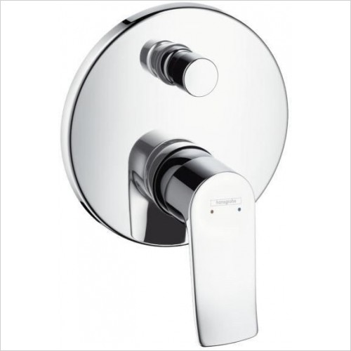 Hansgrohe Taps - Metris Bath Mixer Concealed Finish Set