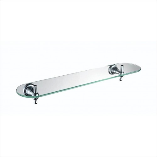 Heritage Accessories - Holborn Single Glass Shelf