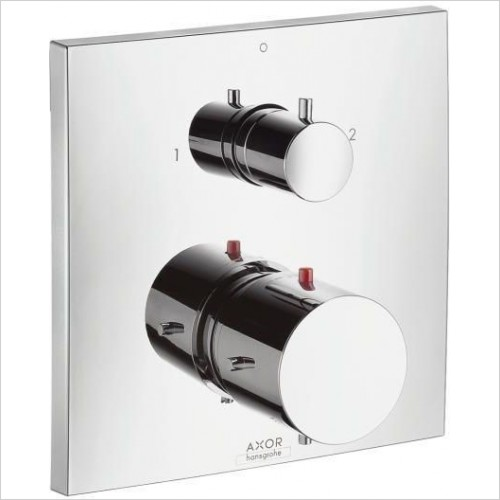 Axor Taps - Starck x Thermostatic Mixer With Shut off/Diverter