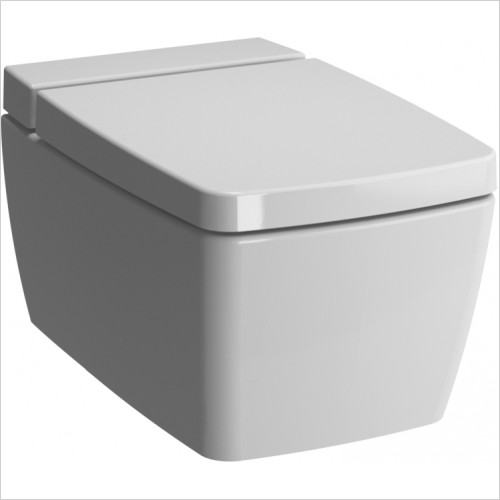 Vitra Toilets - M-Line 56cm Wall Hung Rimless WC Pan With Vitra Fresh