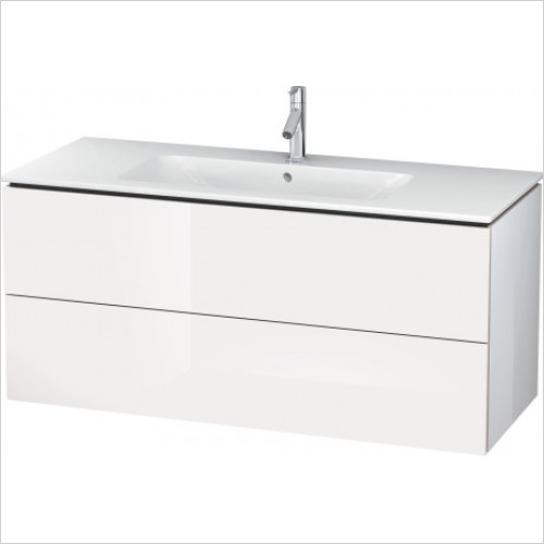 Duravit Furniture - L Cube Vanity Unit 1220 F 233612, 2 Drawer