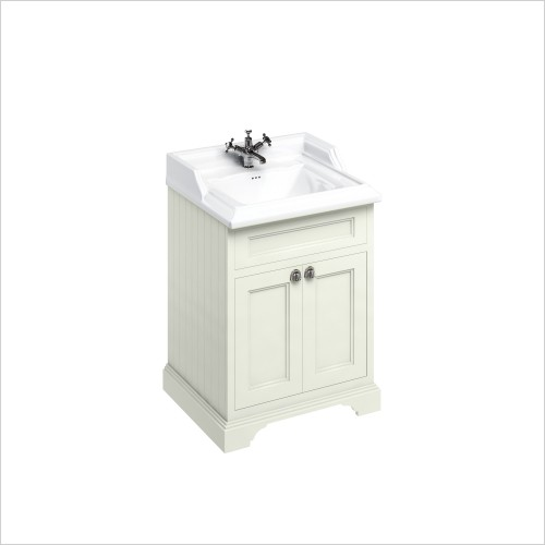 Burlington Furniture - 600 Freestanding Basin Unit With Doors