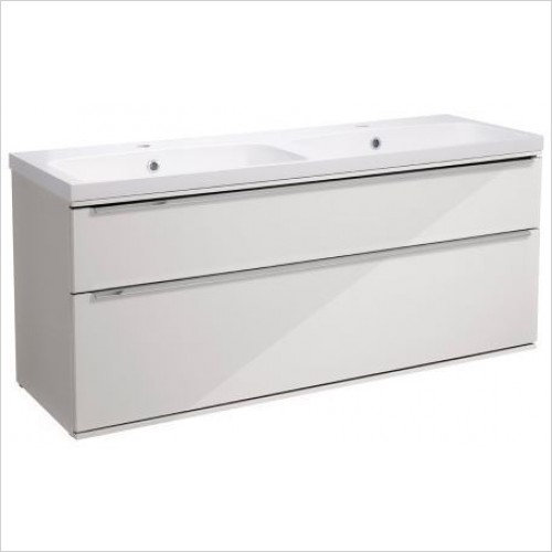 Roper Rhodes Furniture - Scheme 1200mm Wall Mounted Double Drawer