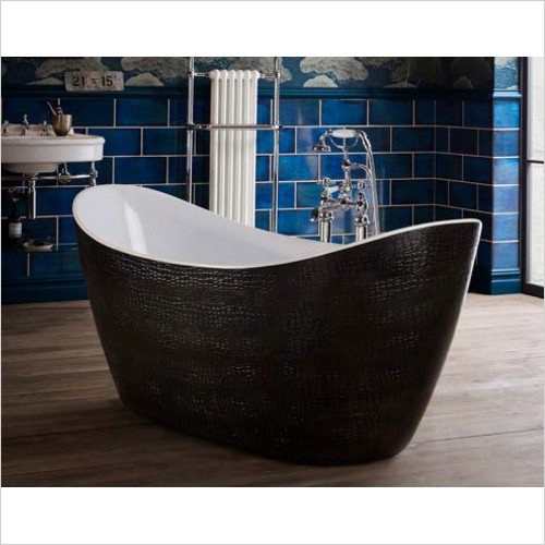 Heritage Bathtubs - Alderley Double Ended Freestanding Acrylic Bath