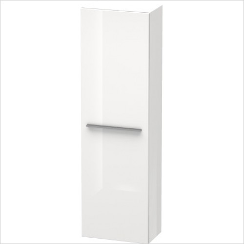 Duravit Furniture - X-Large Tall Cabinet 1320x400x238mm Left Hinge