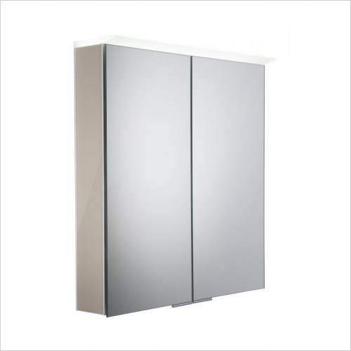 Roper Rhodes Furniture - Visage Cabinet With Gloss Warm Grey Insert
