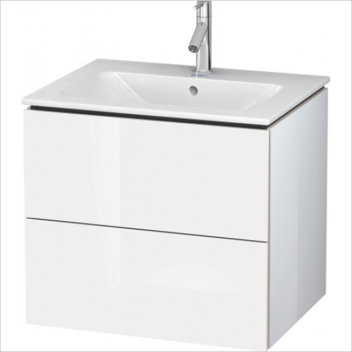 Duravit Furniture - L Cube Vanity Unit 620 F 233663, 2 Drawer