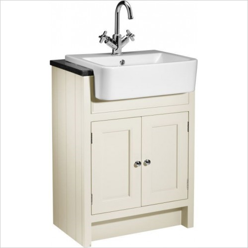 Roper Rhodes Furniture - Hampton 600mm Semi Countertop Bathroom Unit in Vanilla