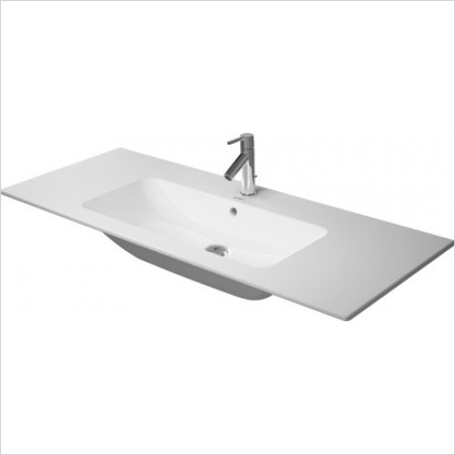 Duravit - Basins - Me By Starck Furniture Basin 1230mm , With Overflow,  1 Tap