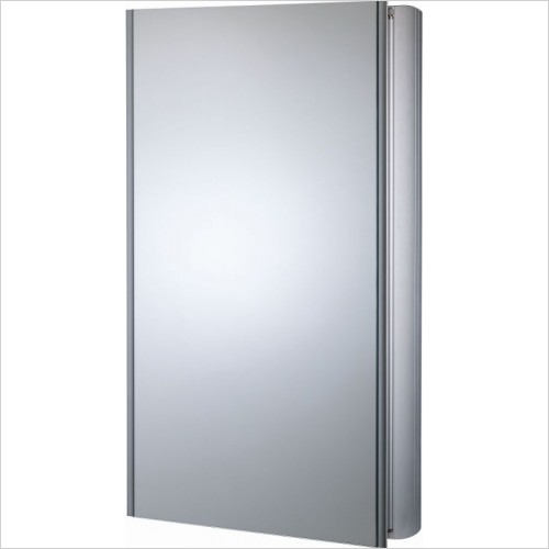 Roper Rhodes Furniture - Ascension Limit Slimline Single Mirror Glass Door Cabinet