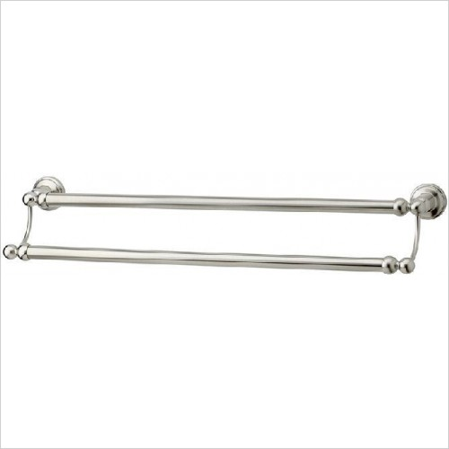Perrin and Rowe Accessories - Traditional 457mm Double Towel Rail