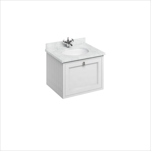 600 Wall Hung Basin Unit With Drawers