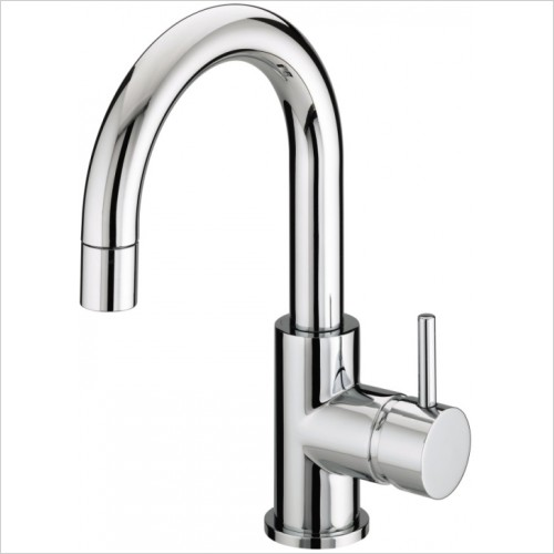 Bristan Taps - Prism Side Action Basin Mixer With Pop Up Waste
