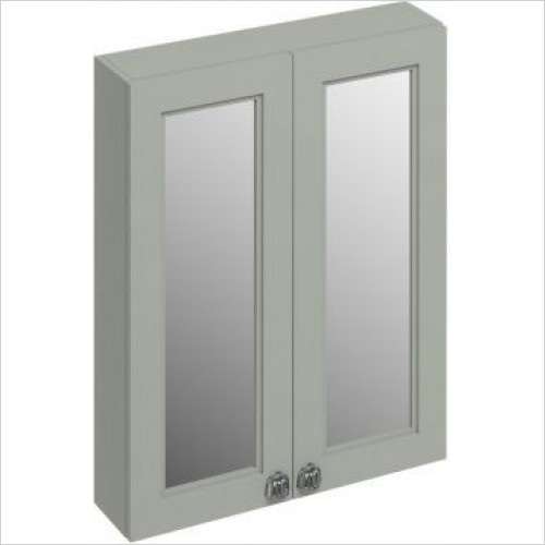 Burlington Furniture - 600 Double Door Mirror Wall Unit