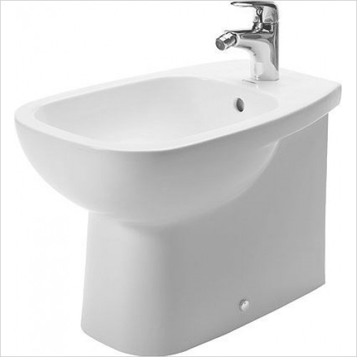 Duravit - Toilets - D-Code Bidet Floorstanding 560mm 1TH Back To Wall