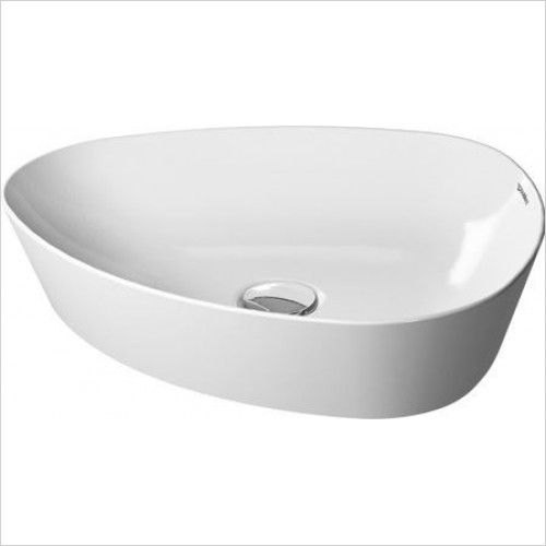 Duravit - Basins - Cape Cod Washbowl Trioval 500mm