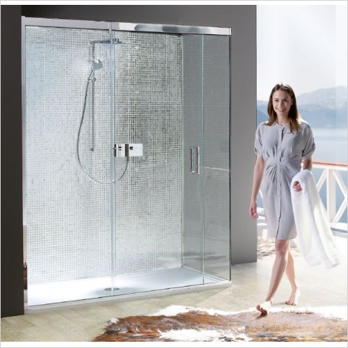 Matki Shower Enclosures - Sliding Door EPSC/EPST Side Panel 700mm
