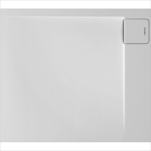 Duravit Showers - P3 Comforts Shower Tray 900x800mm Rectangle Corner Right