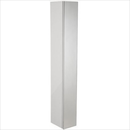 Roper Rhodes Furniture - Scheme 1400 x 250mm Tall Mirrored Door Bathroom Cabinet