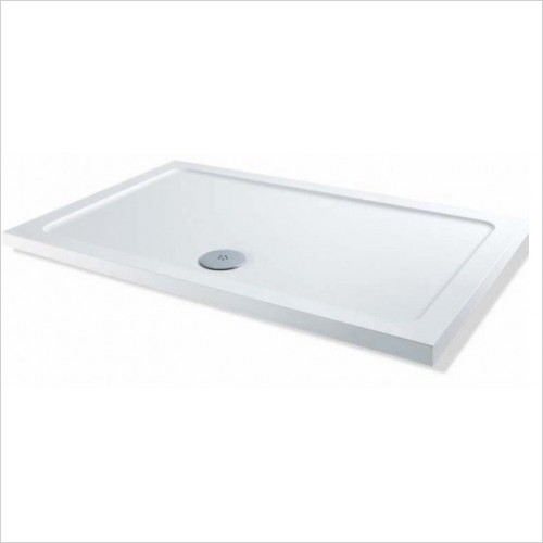 MX Shower Trays - Elements Low Profile 1500 x 760mm Rectangular Tray