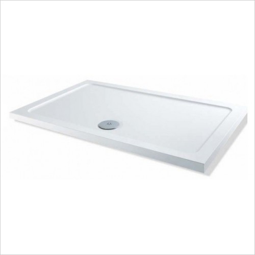 MX Shower Trays - Elements Low Profile 1300 x 700mm Rectangular Tray