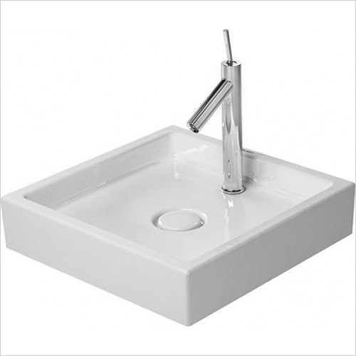 Duravit - Basins - Starck 1 Wash Bowl Square 470mm 1TH