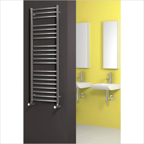 Eos Curved Radiator 720 x 600mm - Dual Fuel