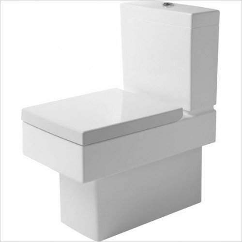 Duravit - Toilets - Vero Toilet Close Coupled 630mm Vario Outlet Washdown